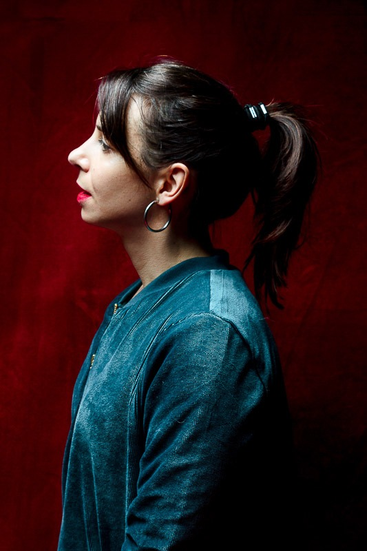 autoportrait de Florence Moncenis