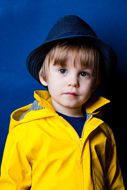 portrait photo enfant deux ans par Velvet Studio Photo