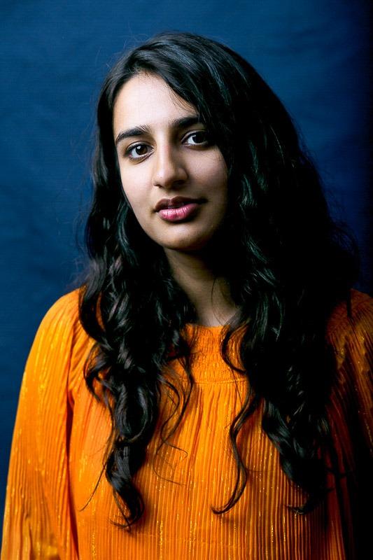 portrait photo d'une jeune femme style peinture par Velvet Studio Photo
